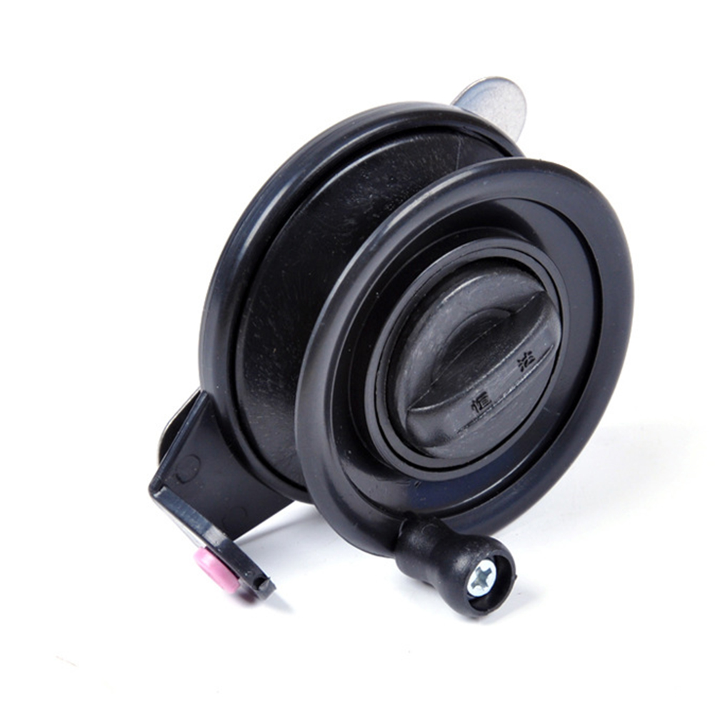 Portable Winter Ice Fishing Reels Fly Fishing Reels Outdoor Ice Fishing Reel  black