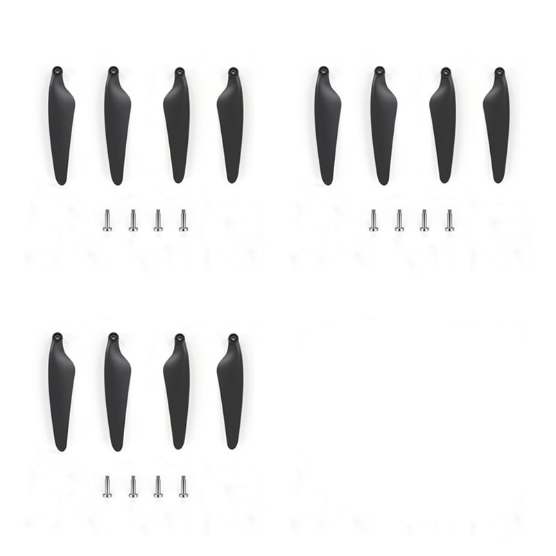 Hubsan H117S Zino RC Drone Quadcopter Spare Parts Quick Release Foldable Propeller Props Blades Set