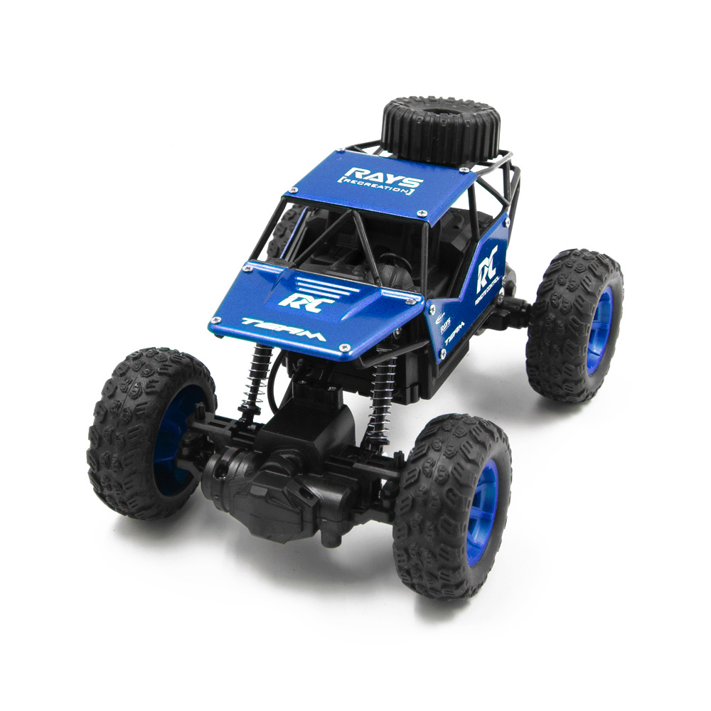 RC Cars on the Control Panel Climbing Off-Road Remote Control Car Toys RC Buggy Radio-Controlled Machine blue