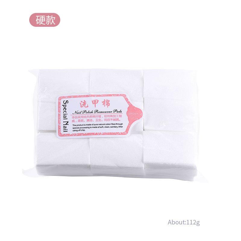 1000pcs/set Nail Art Remover Manicure Polish Gel Wipes Cotton Lint Cotton Pads Paper Acrylic Gel Tips Hard