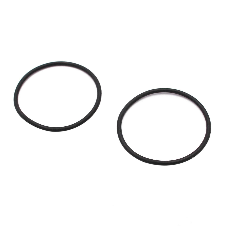 1pair Front Wheel Hub Cover O-ring  Rubber For Polaris  Sportsman  ATV 5410470 Black