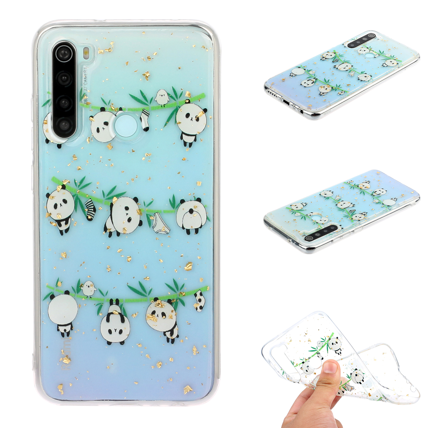 For Redmi Note 8 / Redmi Note 8 Pro Cellphone Cover Beautiful Painted Pattern Comfortable Wear TPU Phone Shell 8