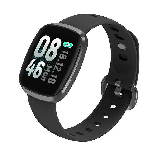 Smart Watch Men Blood Pressure Waterproof Smartwatch Women Heart Rate Monitor Fitness Tracker Watch for Android iOS gray