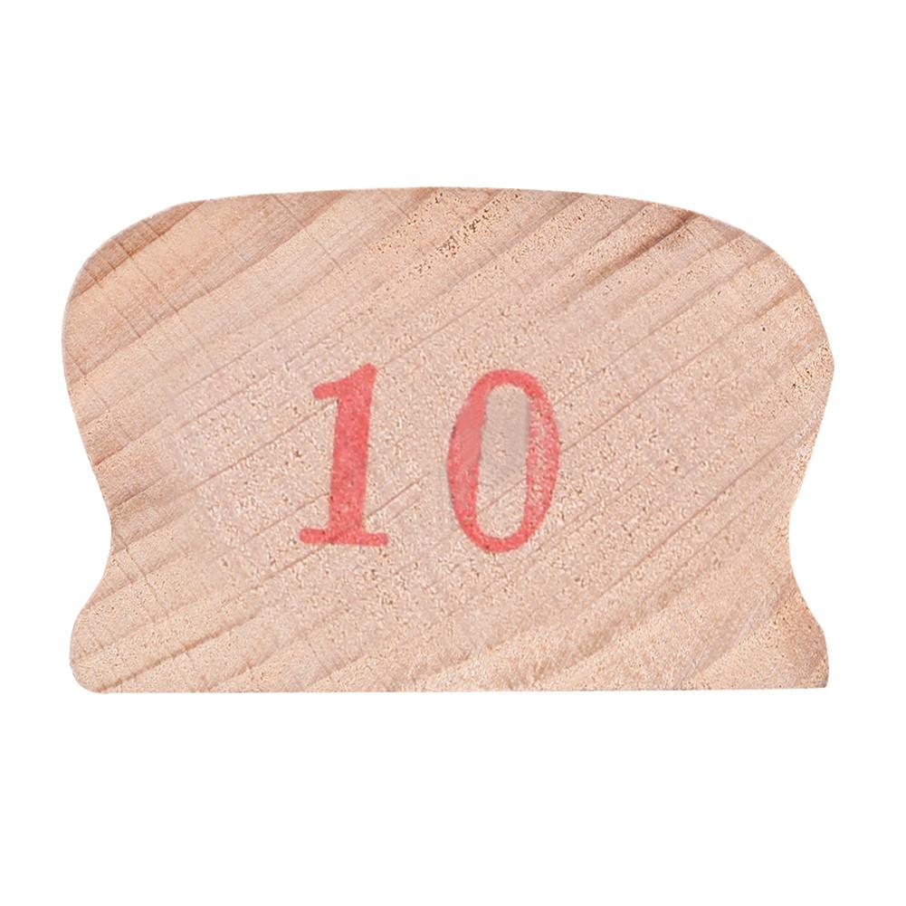 Wooden Polished Block for Guitar Bass Fret Leveling Fingerboard Luthier Tool + 2 Sandpaper 10#