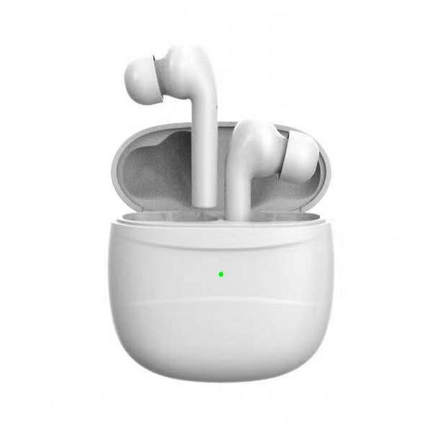 J3 TWS Bluetooth Earphone Wireless Sport Earbuds BT 5.0 In-Ear Headset Ultra-low Power Consumption Sweatproof Design white