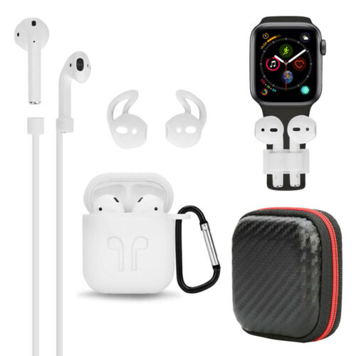 For Apple AirPods Accessories Case Kits AirPod Earphone Charging Protector Cover white