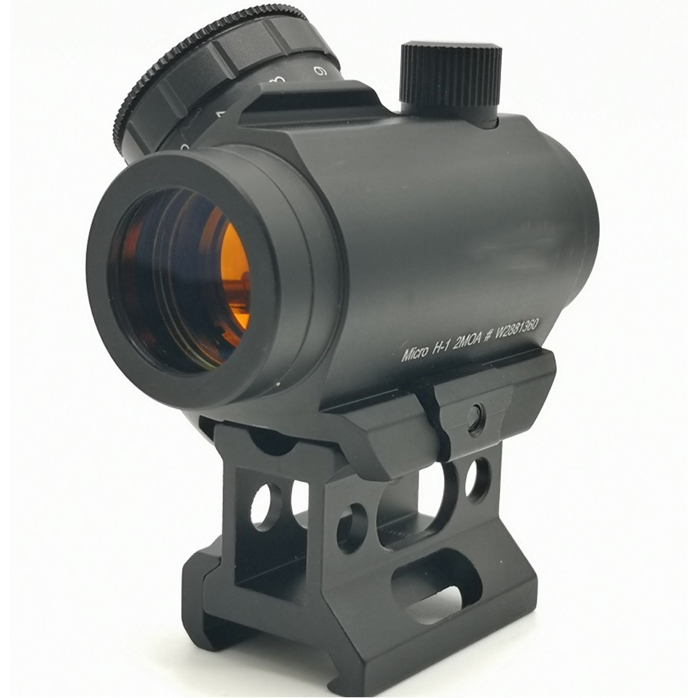 Red Dot Holographic Heighten T1 Hollow Support Red Film Sighting Mirror