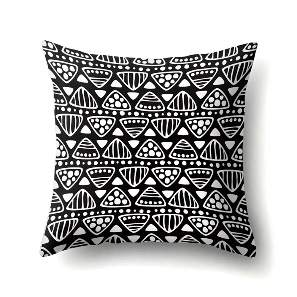 Square Love Heart Leaf Pillowcase Cushion Throw Pillow Cover Printed Living Room Sofa Pillow Case 45*45cm CCA423(12)
