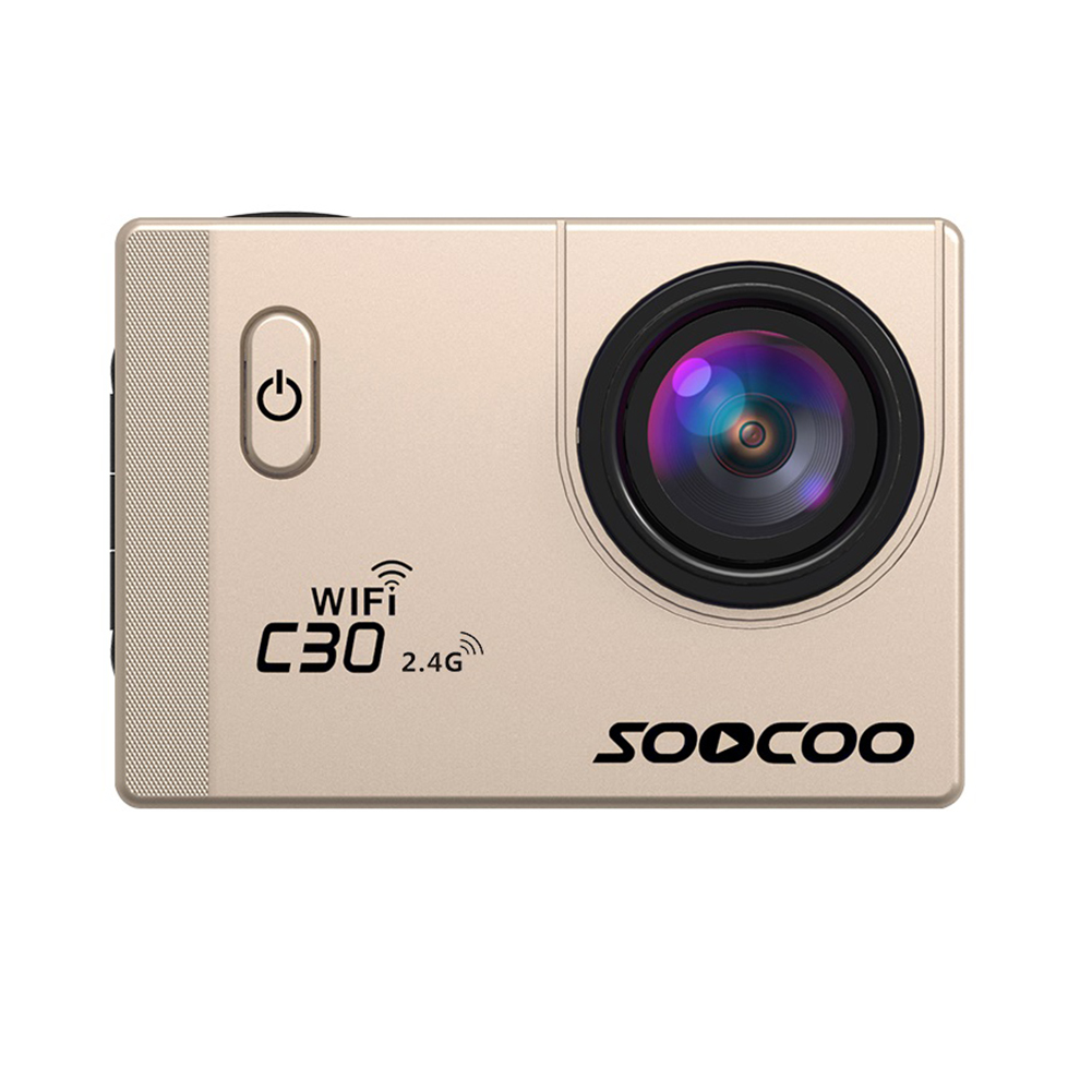 SOOCOO C30R Wifi 4K Sports Action Camera Gold