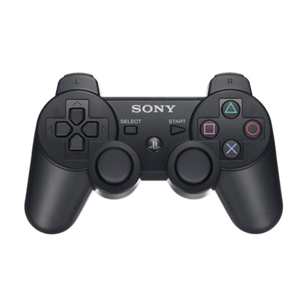 Wireless Bluetooth Gamepad Game Remote Control 6-Axis Handle for PS3 black