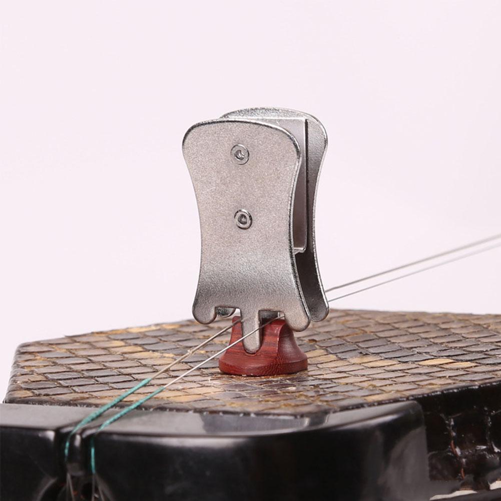 Professional Erhu Muffler Butterfly Clip Silencer Urheen National Musical Instrument Accessory  Silver