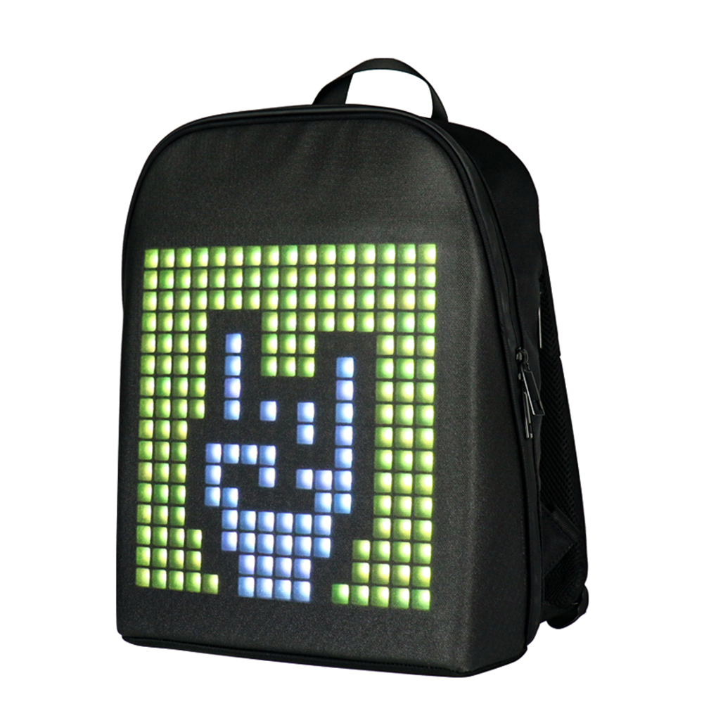 Backpack  With  Programmable Led   Screen Multifunctional Luminous Computer Bag Lightning pro