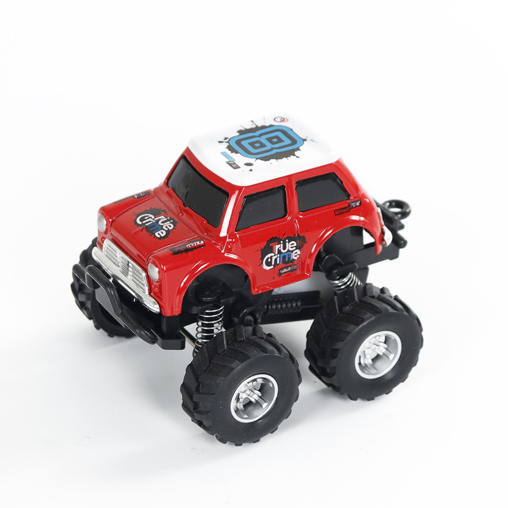Simulate Car Q Version Alloy Pull-back Buggy 253 Model Car Toy for Boys red