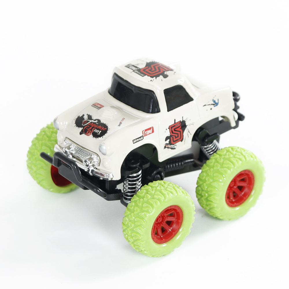 Simulate Car Q Version Alloy Pull-back Buggy 253 Model Car Toy for Boys White