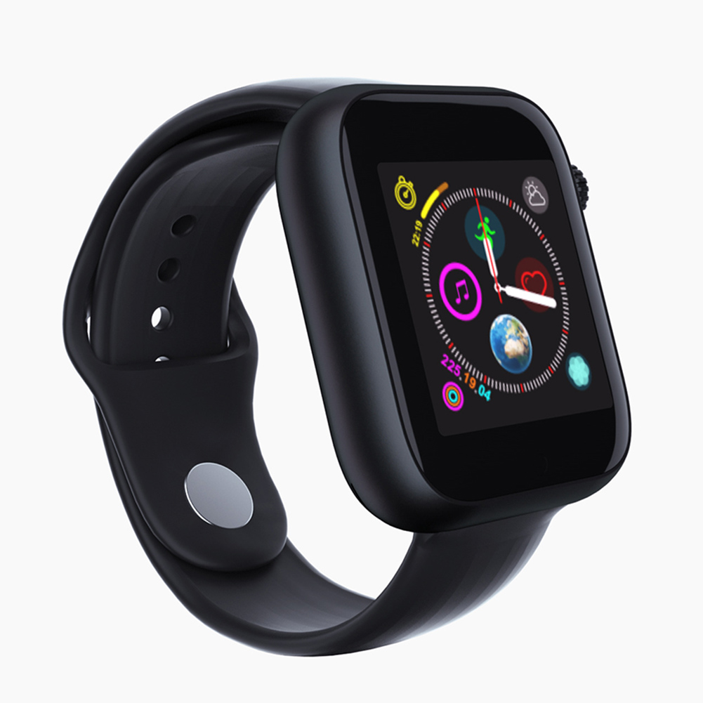 Smart Wristband Z6 Bluetooth Smart Watch with Call Information Reminder Step-counting Function Black
