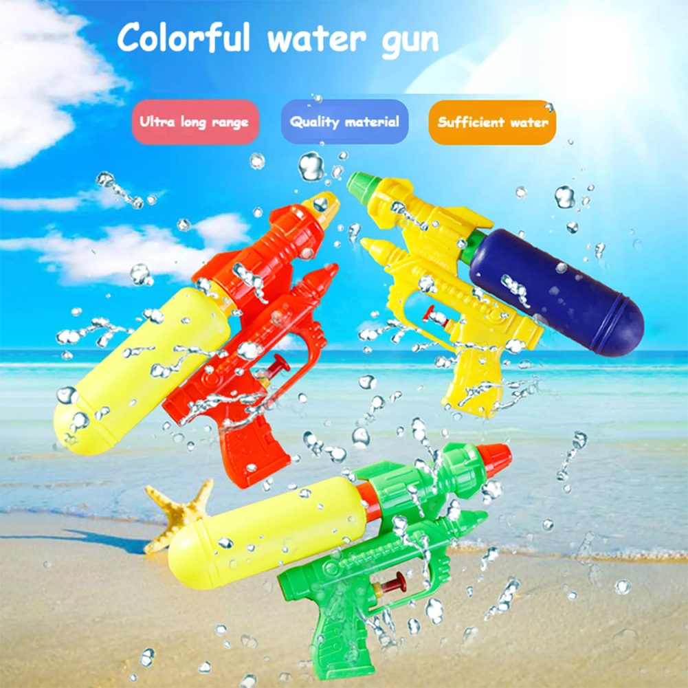 Splashing Toys Outdoor Bathing Swimming Rafting High Pressure Water Soaker Toy For Kids Random Color