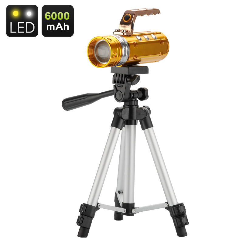 3 Color CREE LED Fishing Flashlight