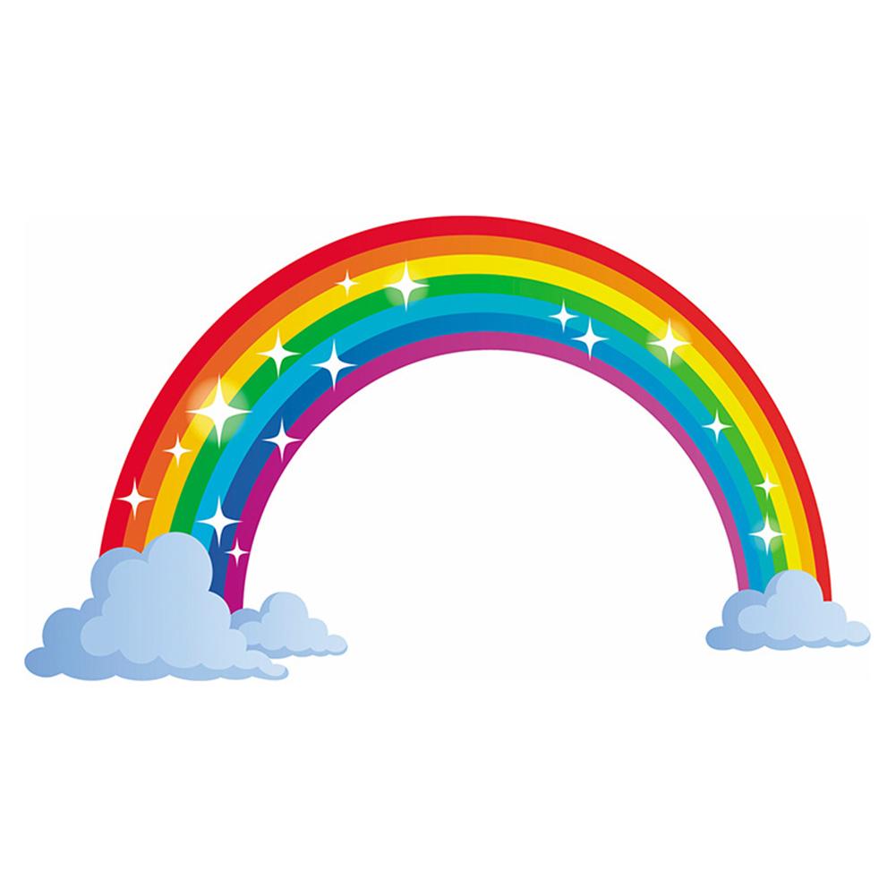 Removable Rainbow Pattern Wall Sticker for Kids Nursery Bedroom Living Room Decor  FX64166