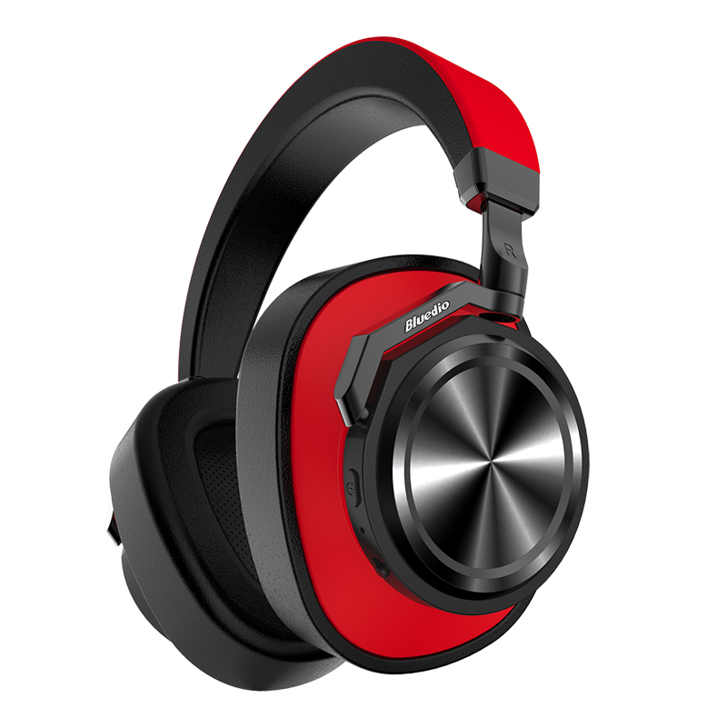 Bluedio T6 Noise Cancelling Headphones Red