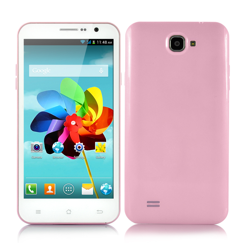 Quad Core Android Phone (Pink)