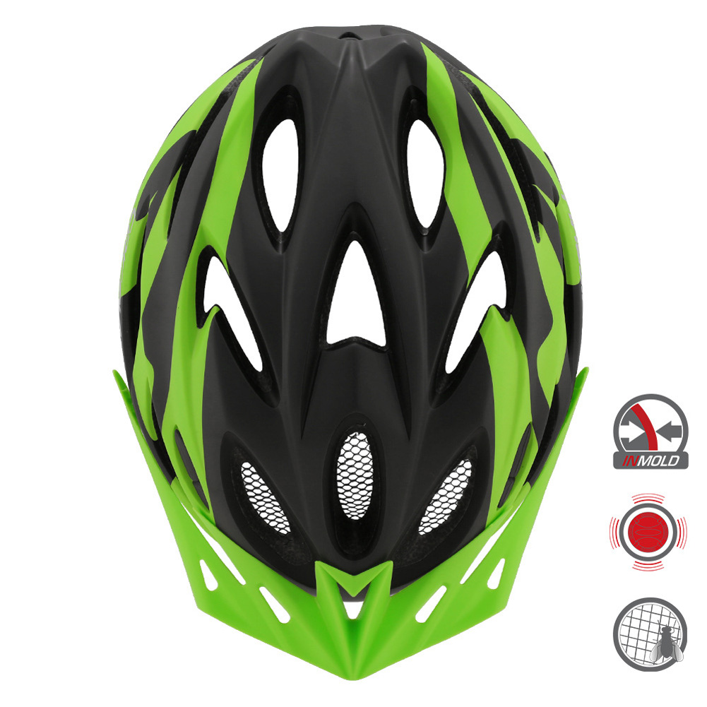 Cairbull FUNGO Helmet All-in-one Off-road Cycling Mountain Bike Motorcycle Riding Helmet dark green_S / M (54-58CM)
