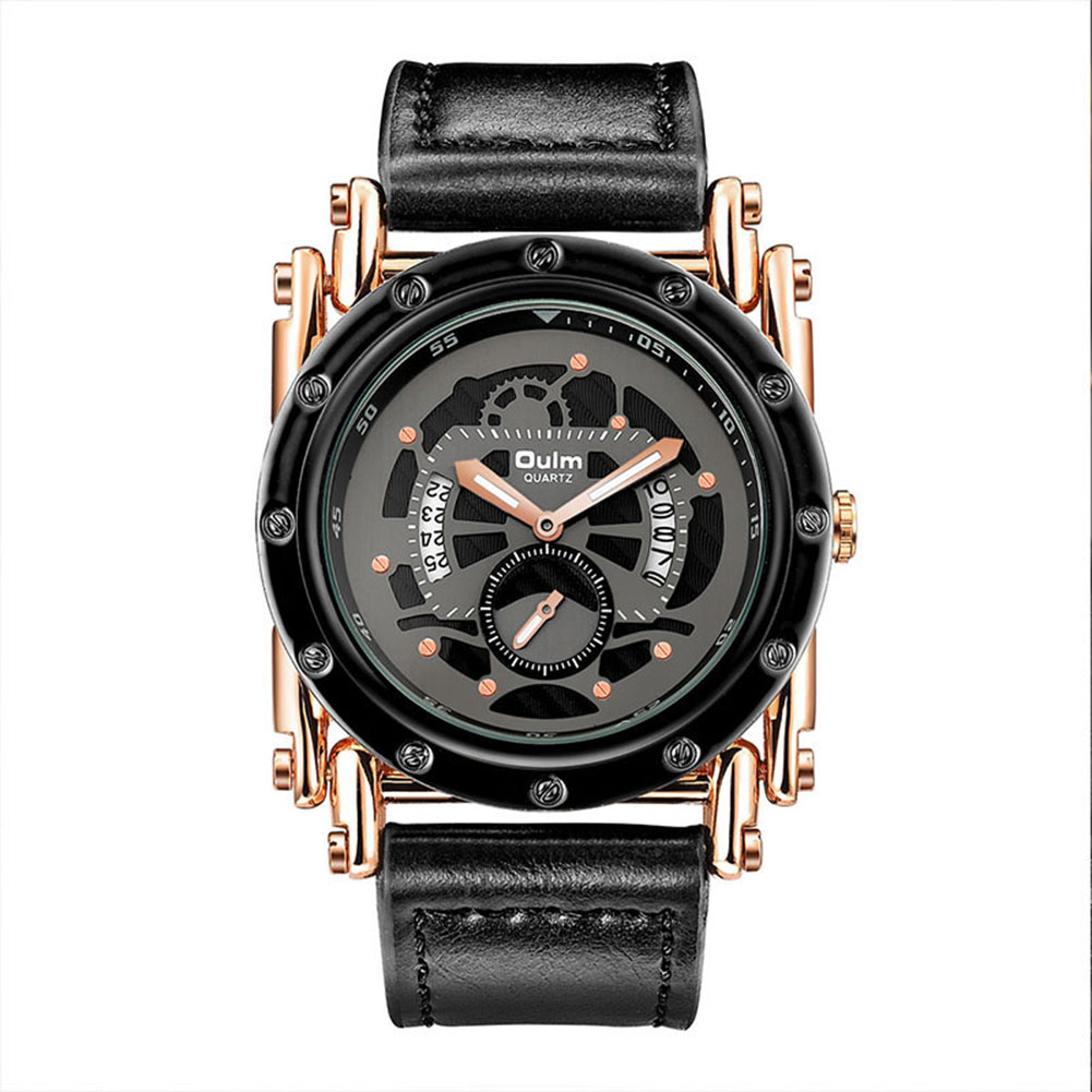 Oulm HP3399 Men Watch Rose gold