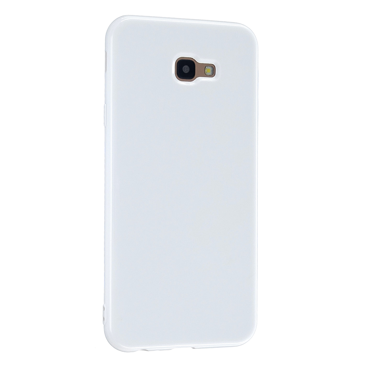 For Samsung J4 2018/J4 Plus/J4 Core/J4 Prime Protective Shell Classic Cellphone Cover Thickened Phone Case White