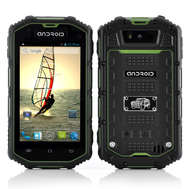 Rugged Android Dual Core Phone (Green)