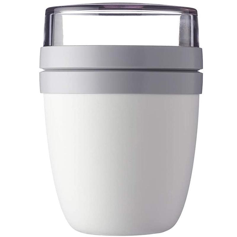700ml Portable Travel Preservation Bowl Cup For Yogurt Nut Dessert Preservation  Cup Tableware white