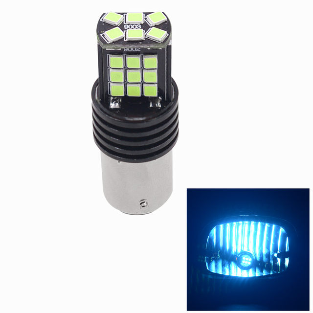 Car Modification Led Brake Taillights Motorcycle General Constant Light + Flashing CS-850A3 (Ice Blue light)