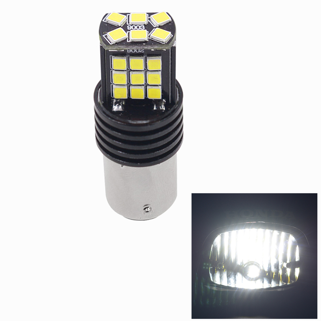 Car Modification Led Brake Taillights Motorcycle General Constant Light + Flashing CS-850A2 (white light)