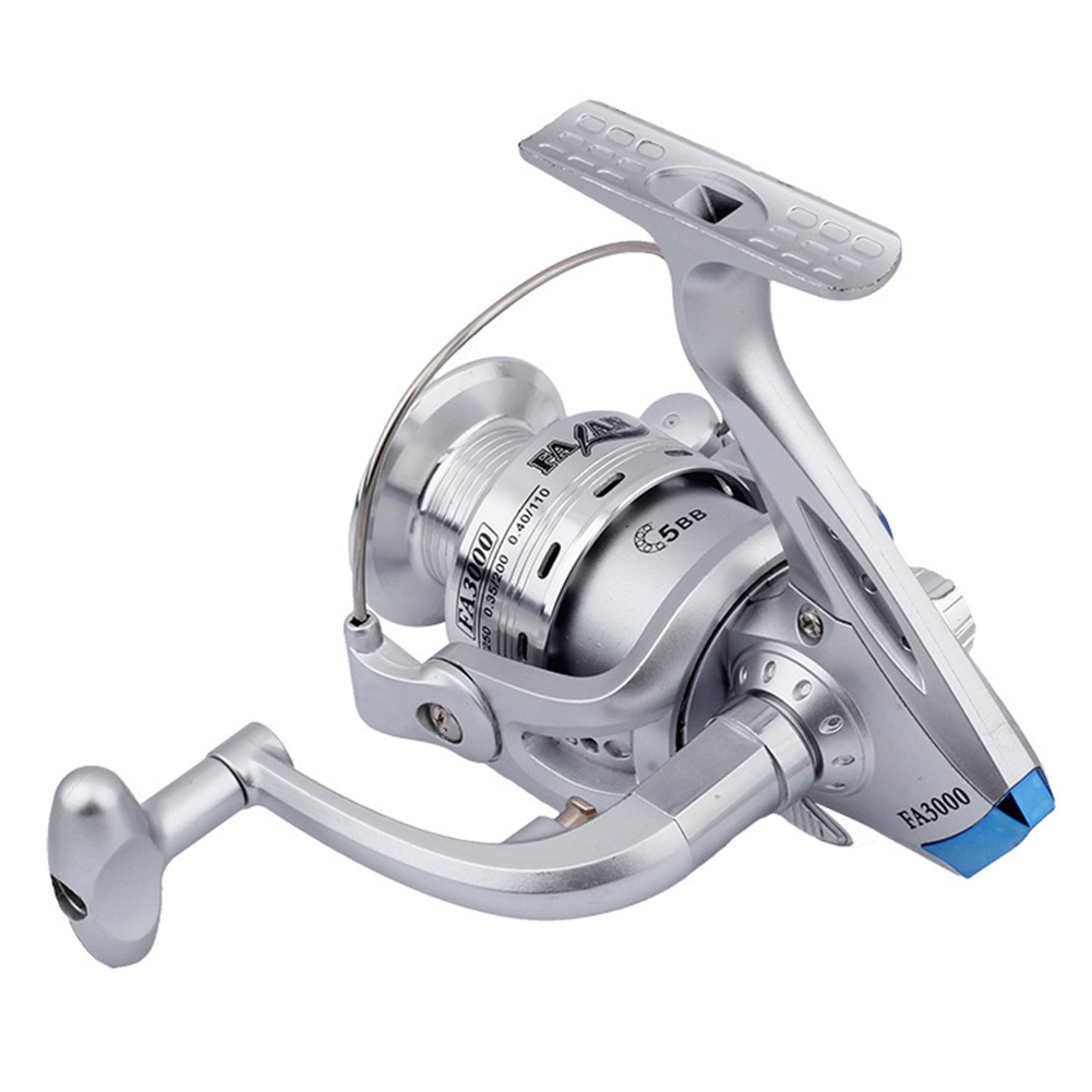 Full Metal Large Caliber Wire Cup Reel Engineering Spinning Wheel Reel Fishing Equipment FA1000 series