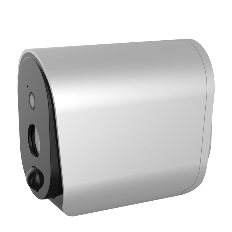 Wireless WIFI HD Monitor Camera Smart Low Consumption Remote Control Camera L3 Black head white body