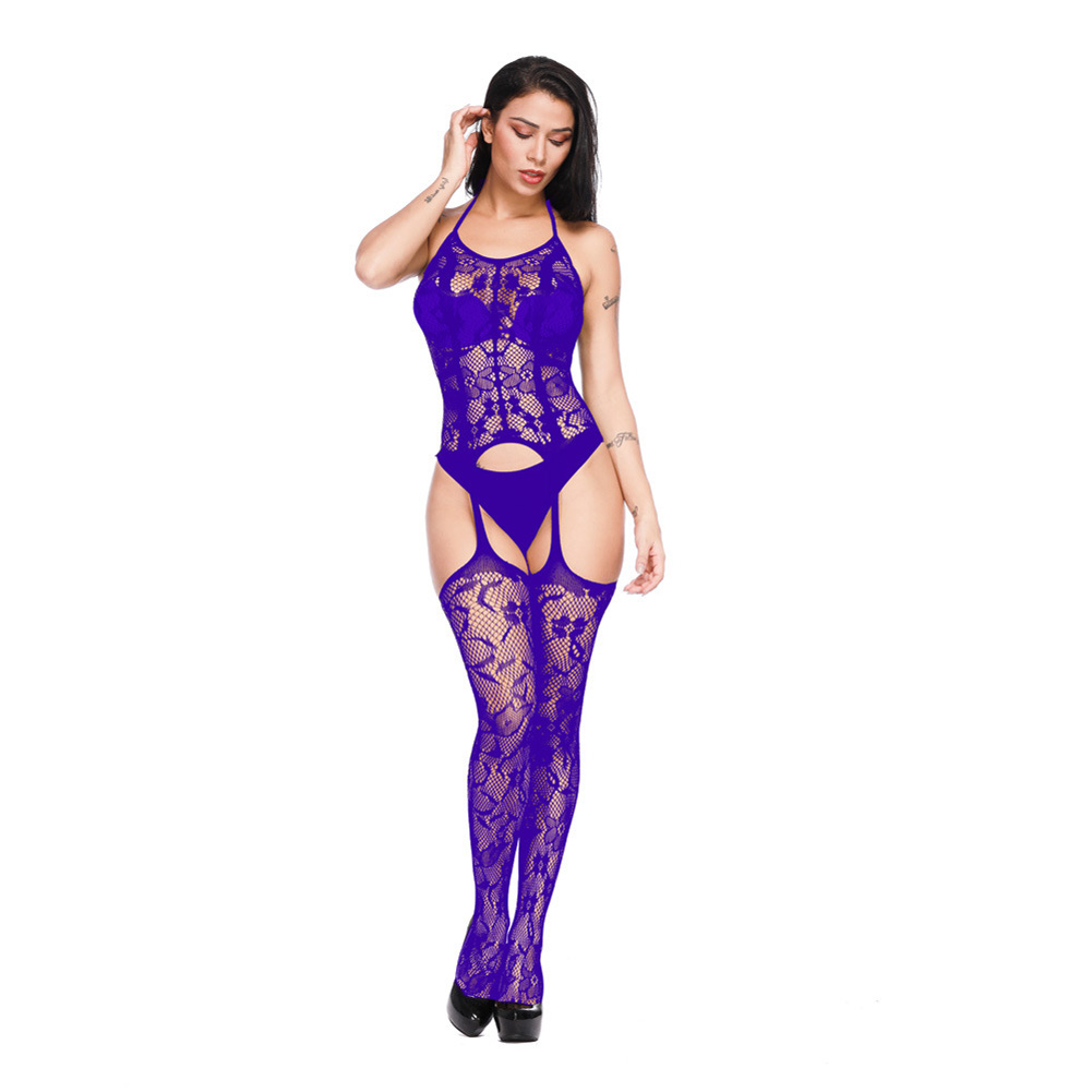 Women lingerie Porn Sexy Hot Erotic Teddy Sexy Babydoll Underwear Sexy Costumes purple