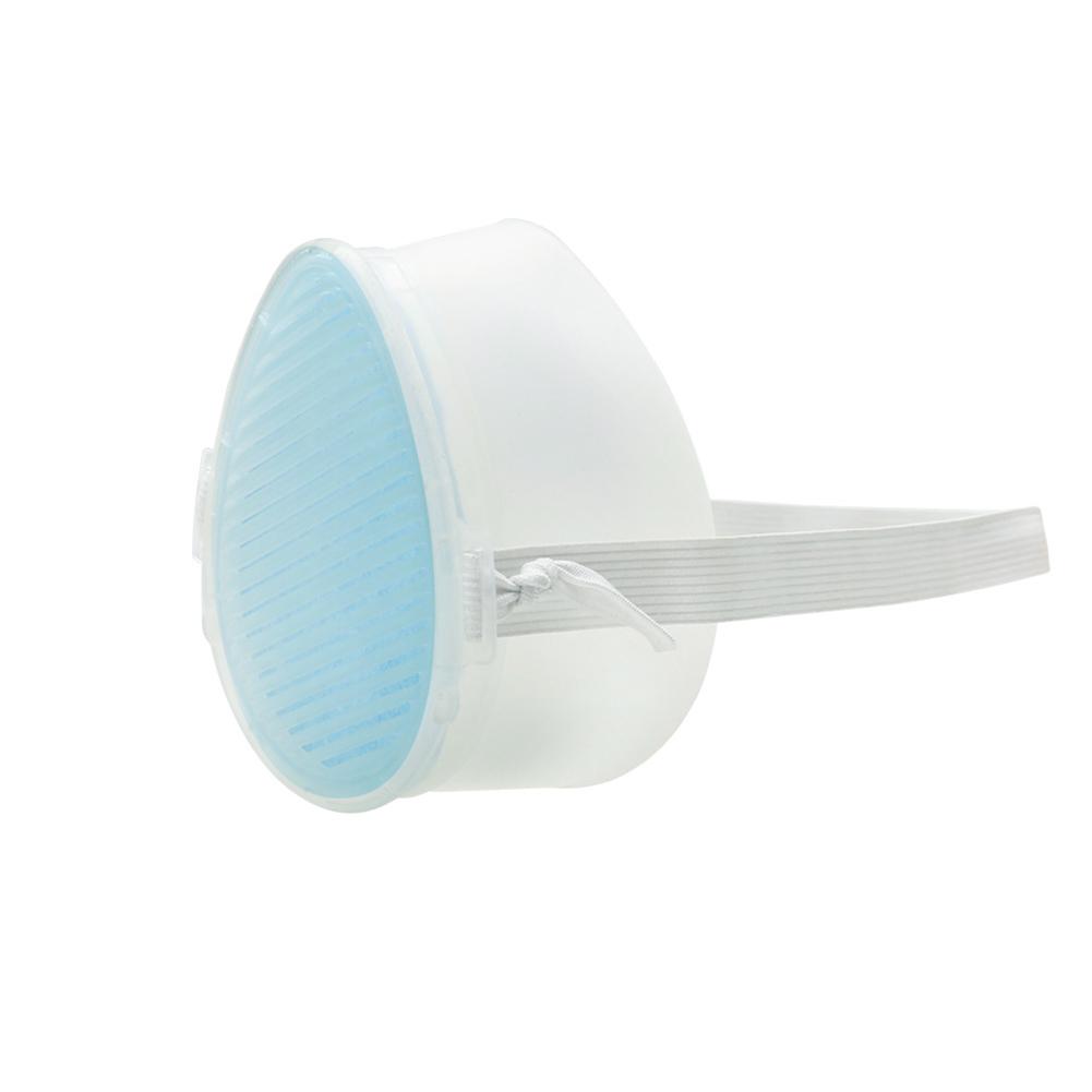 Disposable Silicone Masks Protective Masks Gas Masks Breathable Dustproof Anti-Fog Masks Regular section
