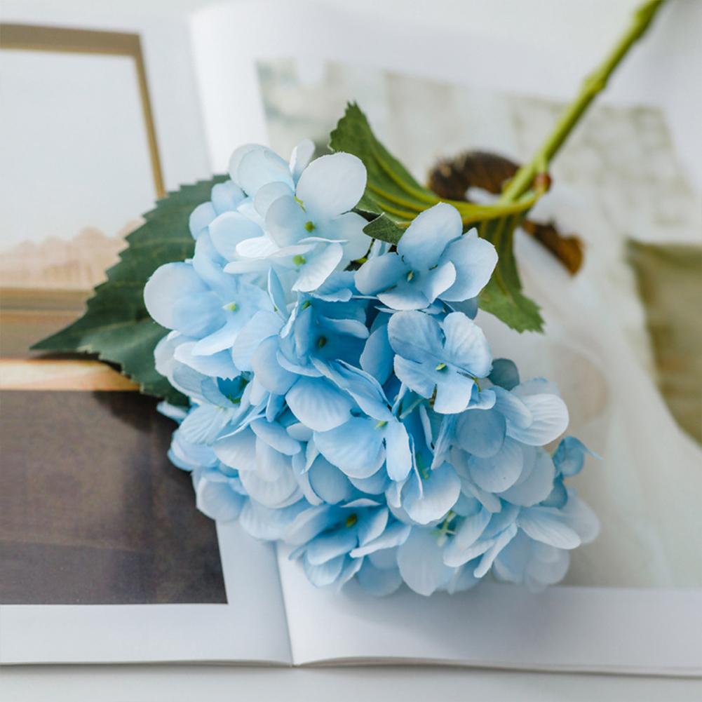 Simulation  Hydrangea Artificial Flower Arch Road Wedding Home Decoration Blue