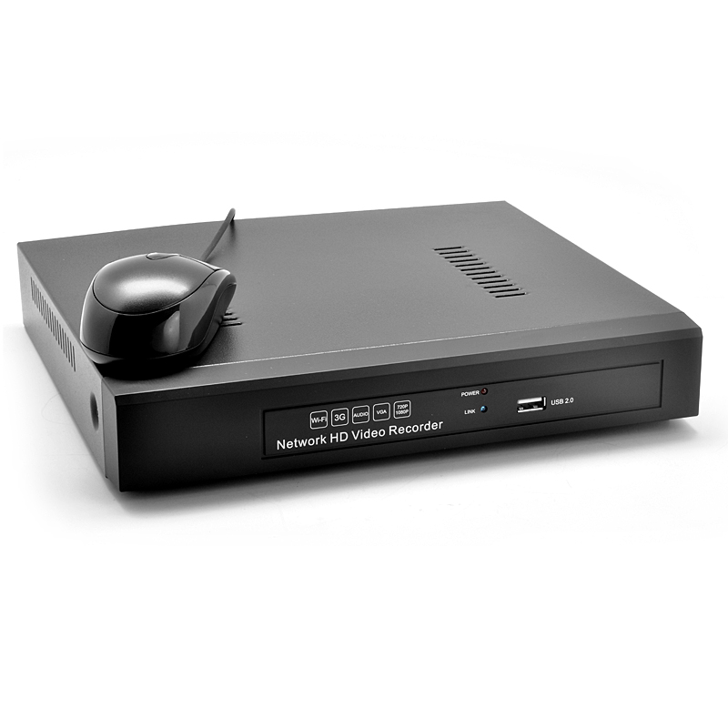 4 Channel NVR Surveillance System