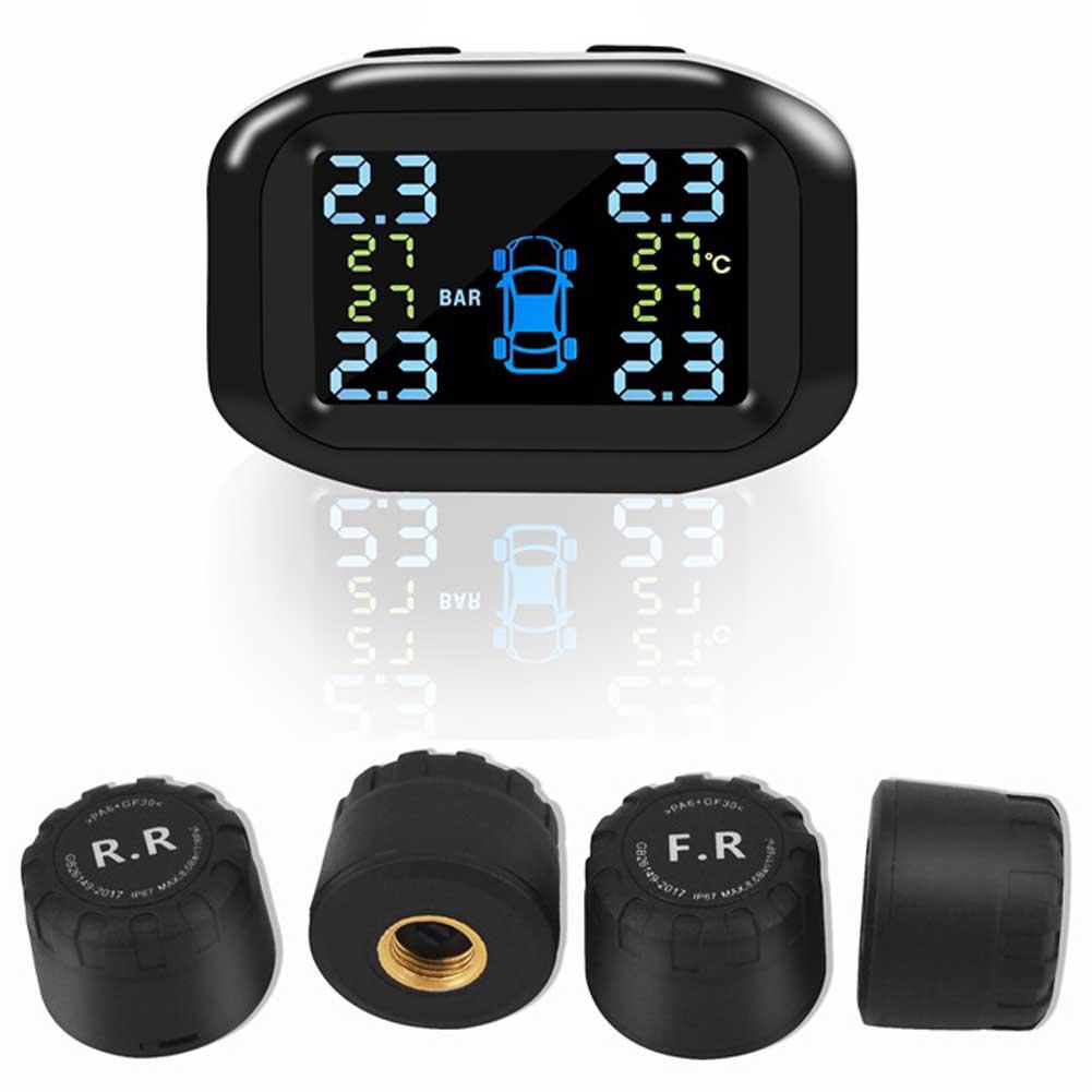 Portable External Sensor Tire Pressure Monitoring Adjustable Angle Pressure Monitor External