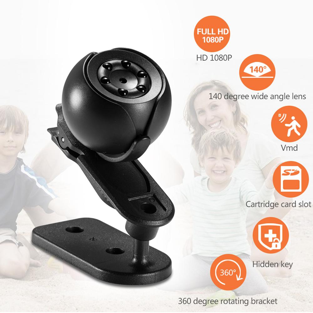 Mini Ip Camera 1080p Sensor Night Vision Camcorder Motion Dvr Micro Sport Video Remote Monitor Cam