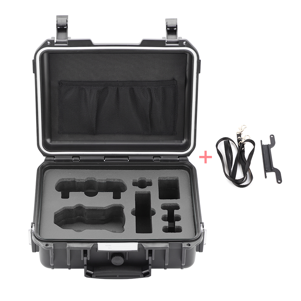 Storage Bag for DJI Mavic Mini Drone Accessories Waterproof Hardshell Box Portable Briefcase Outdoor Carrying Case Black liner