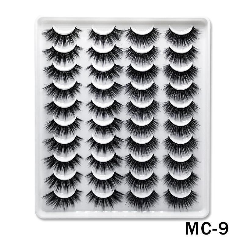 6D Mink False Eyelashes Handmade Extension Beauty Makeup False Eyelashes MC-9