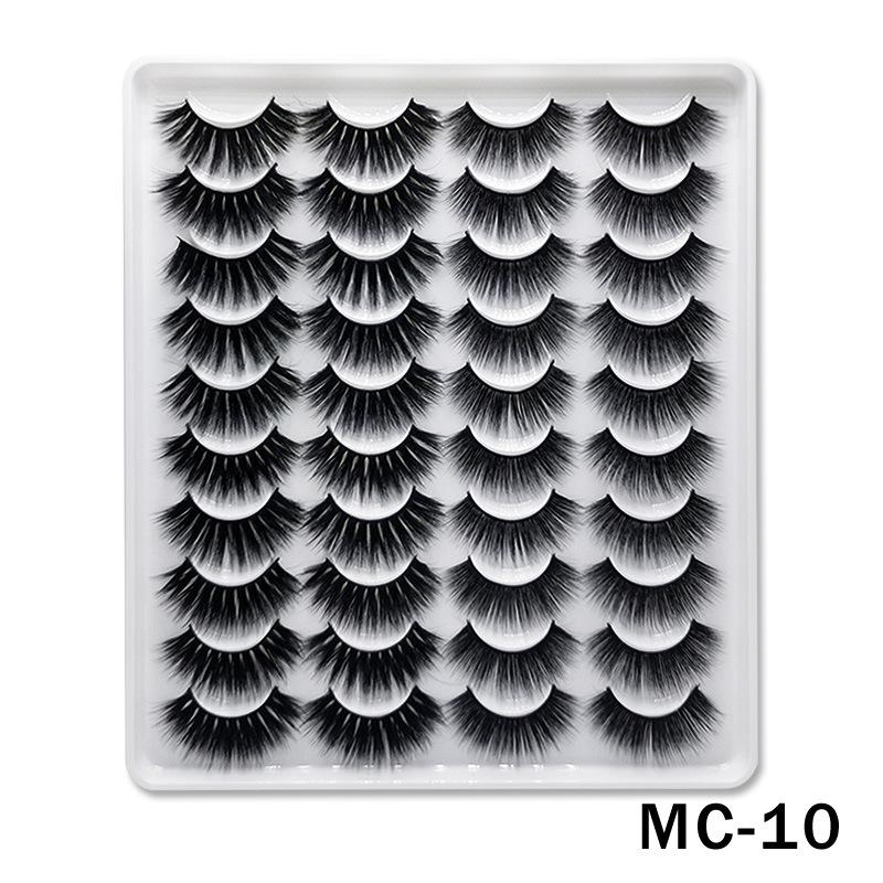 6D Mink False Eyelashes Handmade Extension Beauty Makeup False Eyelashes MC-10