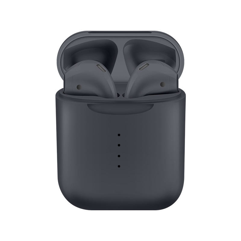 Wireless Bluetooth Earphone V8 Wireless Earphones with Charging Box Case Bluetooth Headset for Phone - Gray
