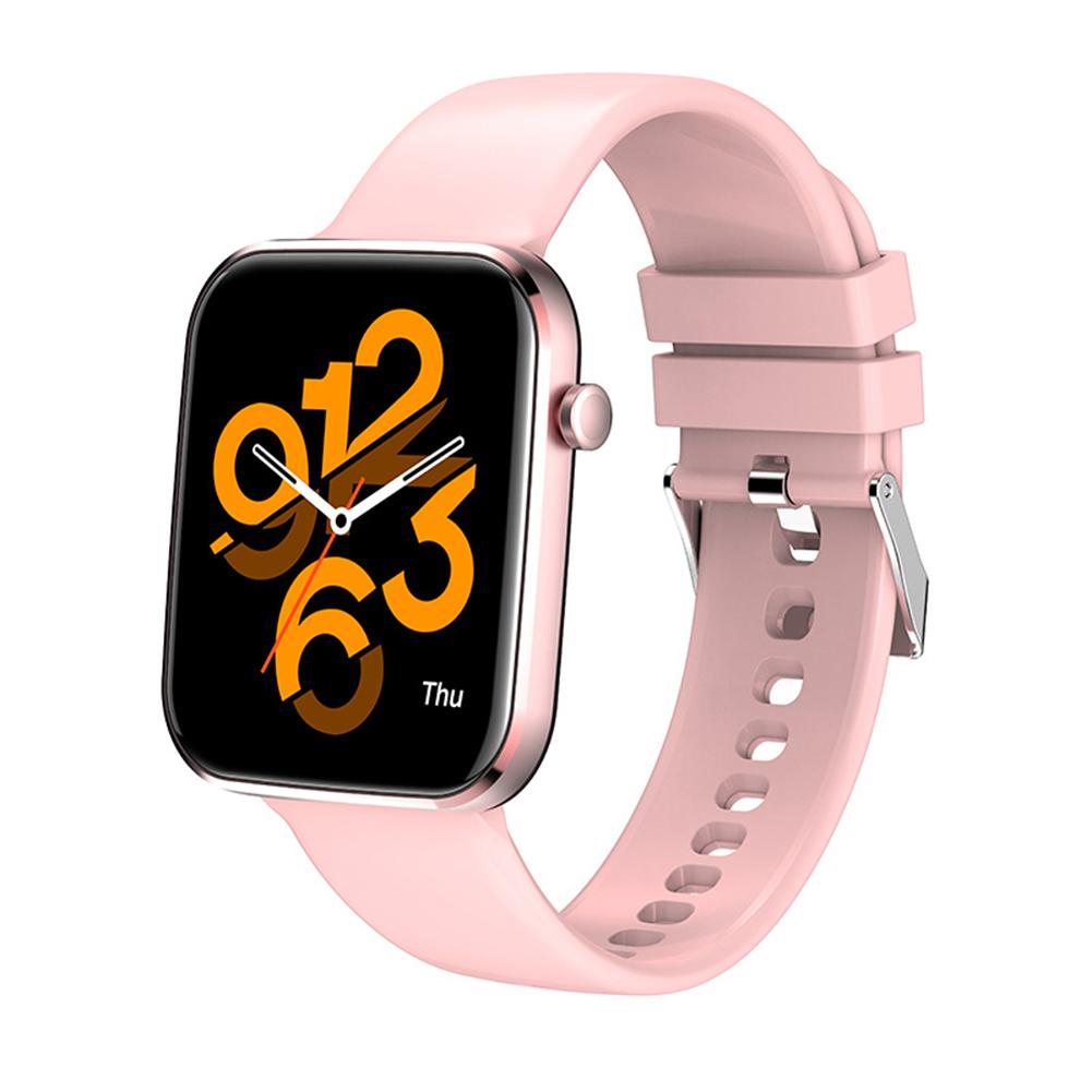 Z15 Smart Watch Bluetooth Call Smart Watch Men Women Ecg Heart Rate Monitor Sport Activity Tracker Pink