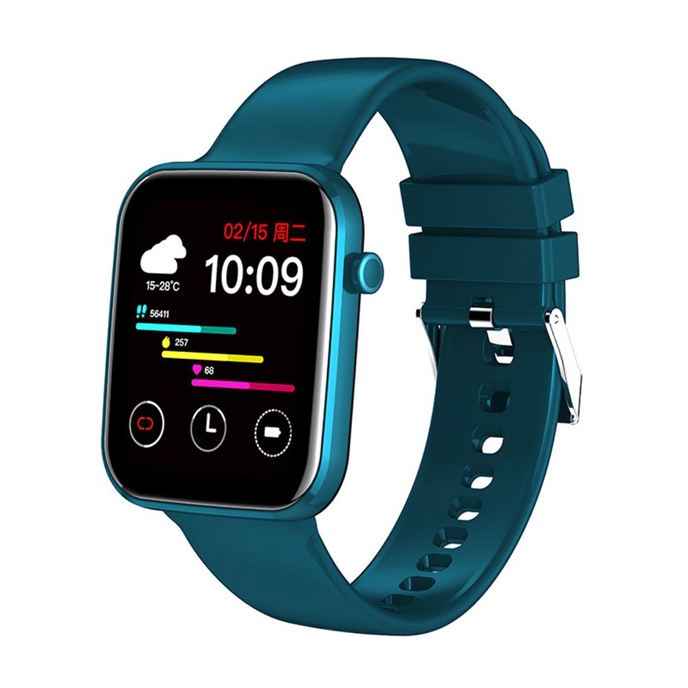 Z15 Smart Watch Bluetooth Call Smart Watch Men Women Ecg Heart Rate Monitor Sport Activity Tracker Blue
