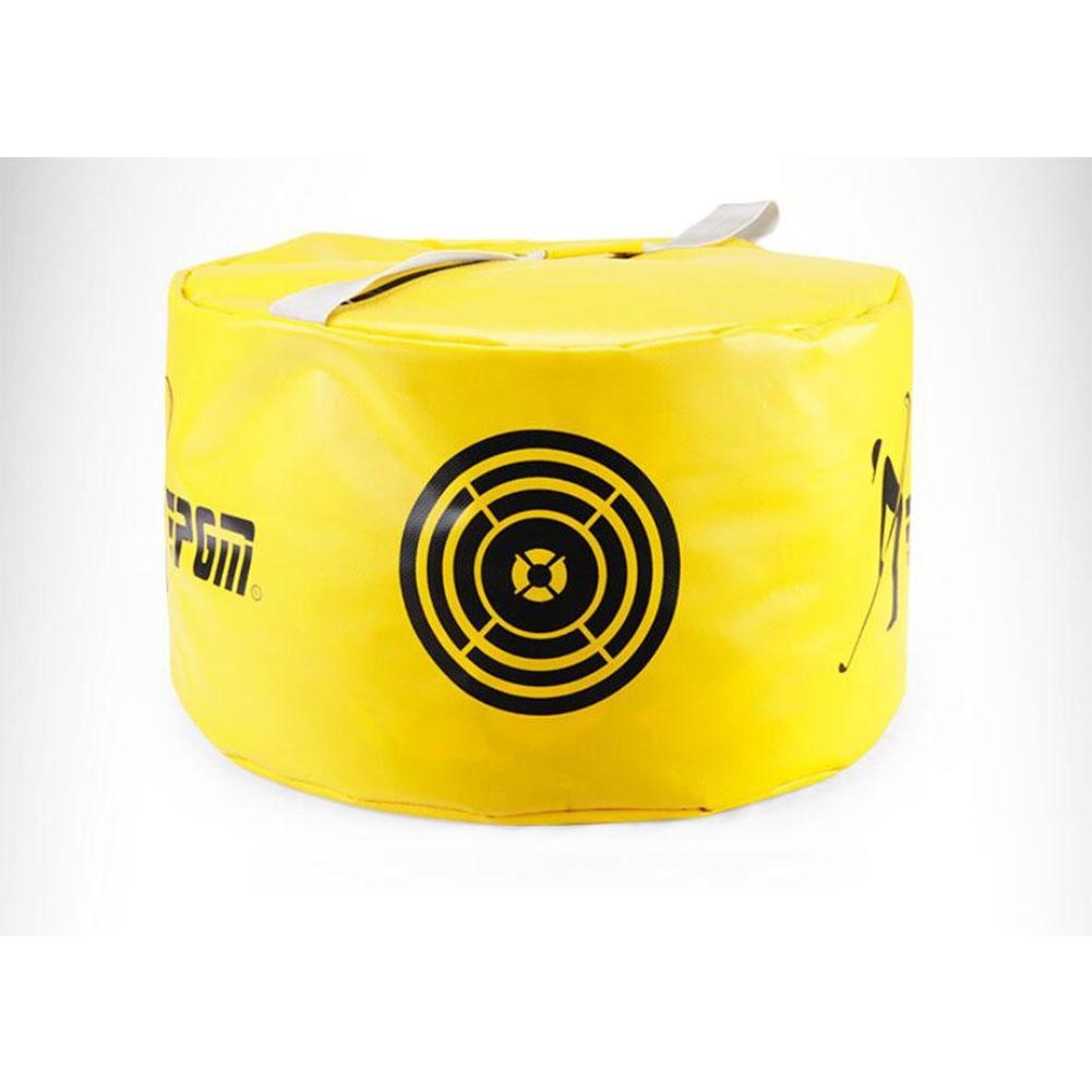 Power Impact Swing Waterproof Golf Practice Hit Training Strike Golf Bag Pack yellow