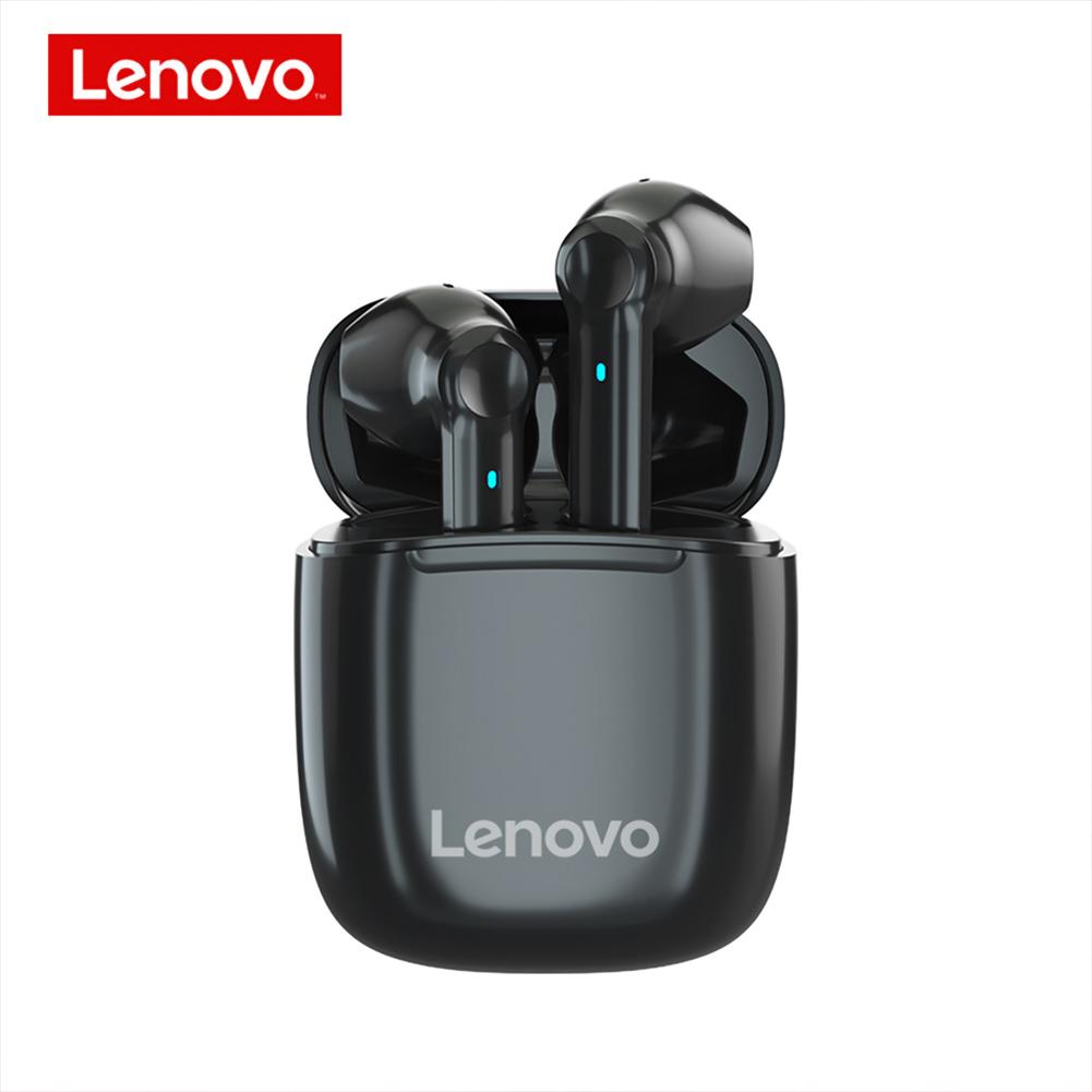 Original LENOVO XT89 Tws Wireless Bluetooth Headset Waterproof Touch Control Hifi Earphones Black