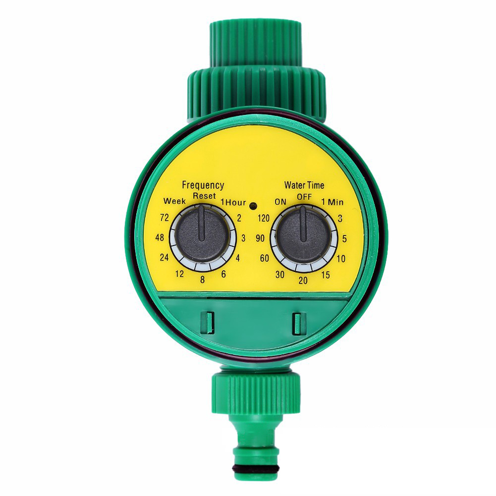 Automatic Watering Irrigation Timer Knob Type Garden Sprinkler green