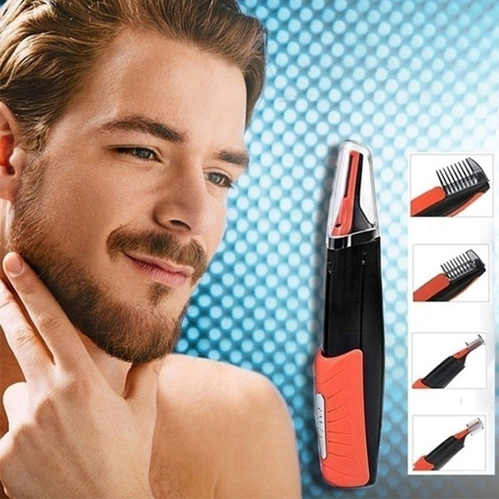 Men Multifunctional Shaver Trimmer for Eyebrow Hair Nose Hair Body Hair 6 in 1