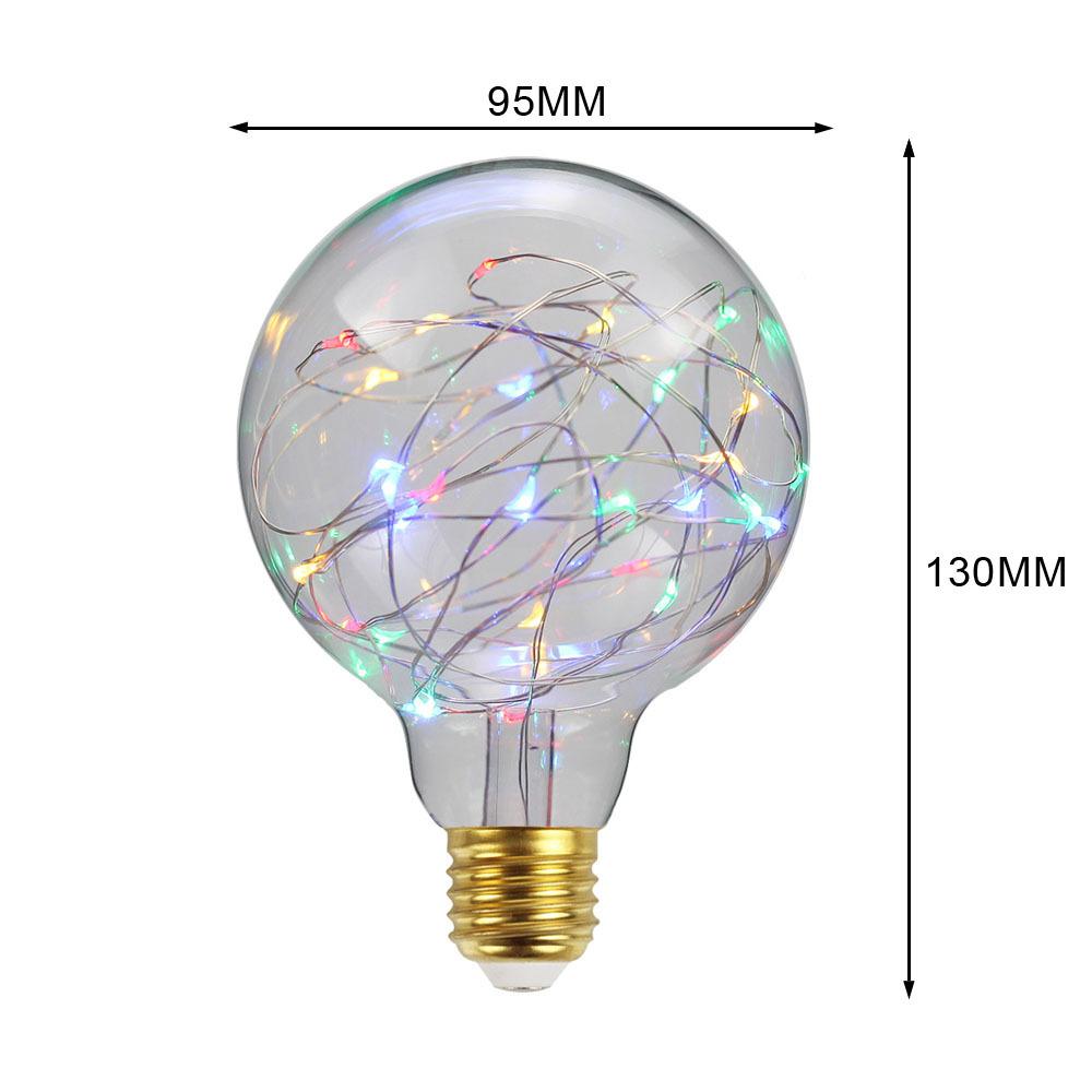 Led Light Bulbs 3D Decoration Bulb Holiday Lights Lamp For Home Decor